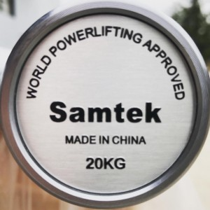 Gryf Samtek Powerlifting Black