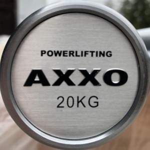 Gryf Axxo Powerlifting Black